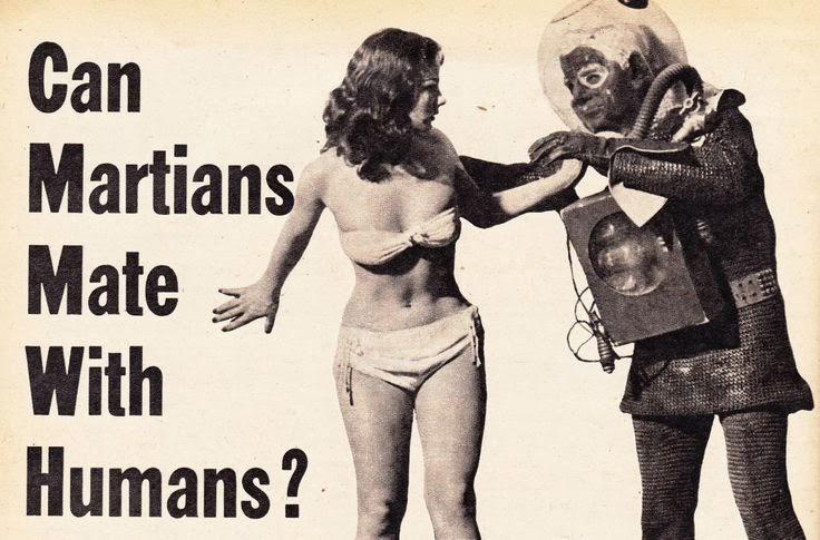 I marziani possono accoppiarsi con gli umani?