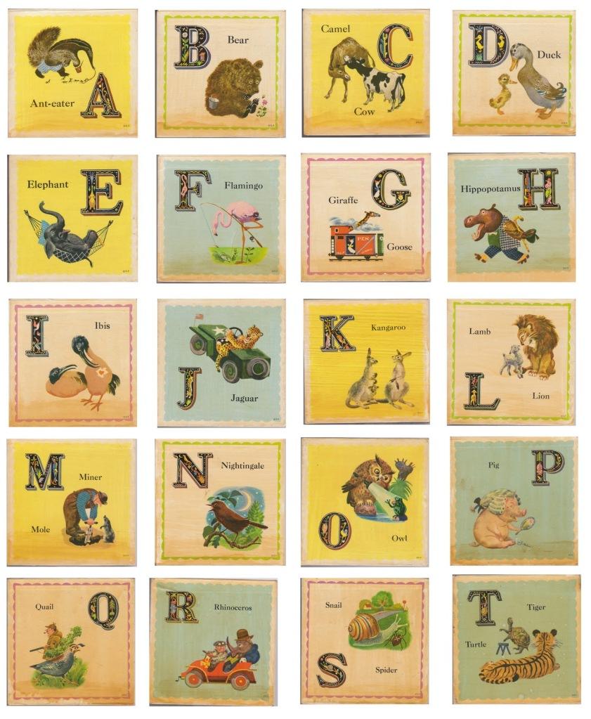 Clicca sull'alfabeto per prelevare il documento