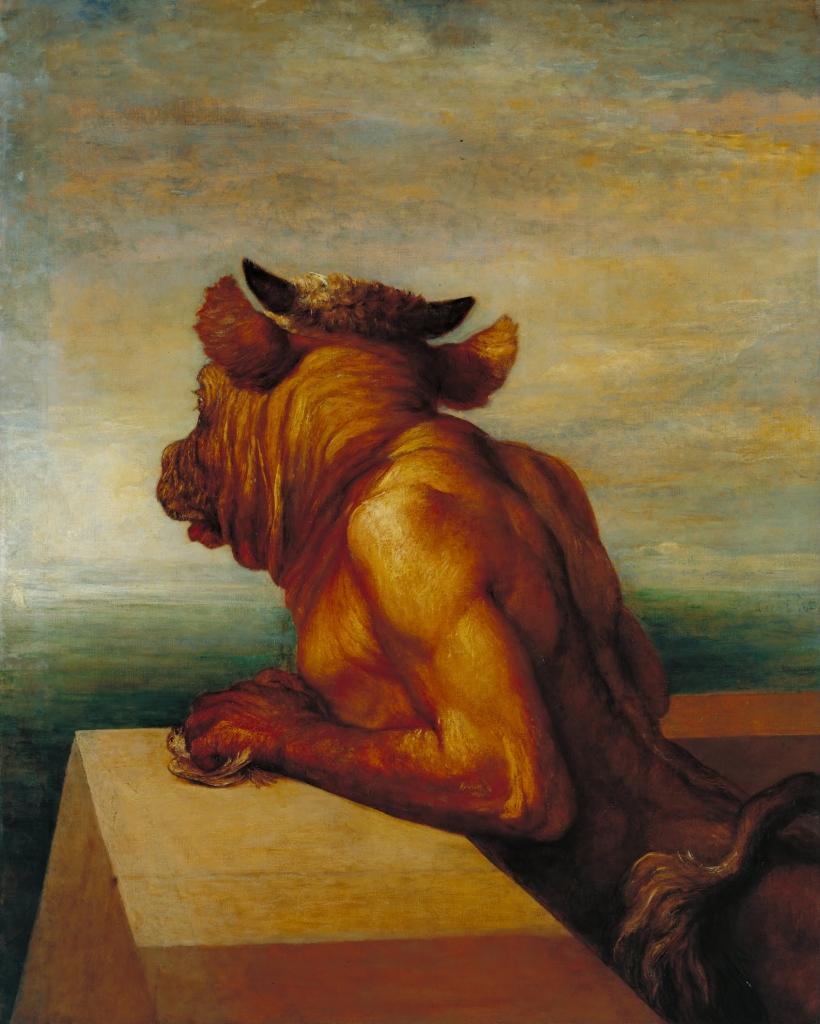 George Frederic Watts, Il Minotauro (da Wikimedia)