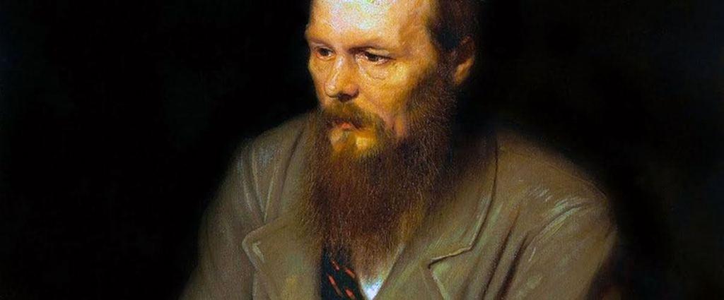 Fëdor Dostoevskij, colto in un momento di sobrietà