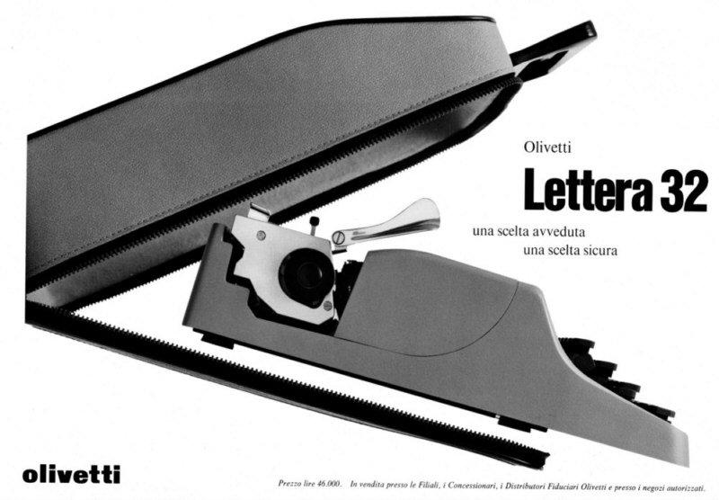 La prima macchina per scrivere veramente portatile