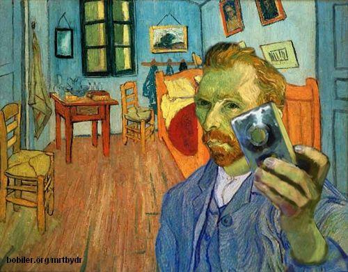 Vincent Van Gogh, Selfie