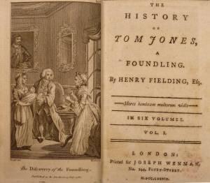 Tom Jones, la prima edizione (credo)