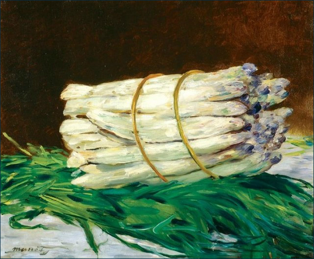 Édouard Manet, Un mazzo di asparagi