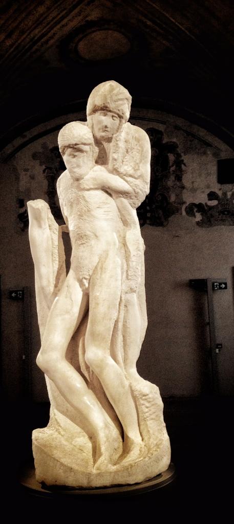 MIchelangelo Buonarroti, Pietà Rondanini