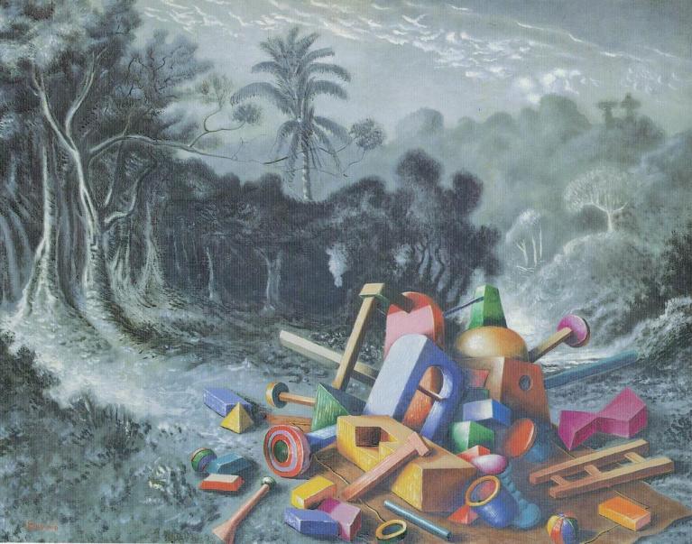 Alberto Savinio, Oggetti nella foresta