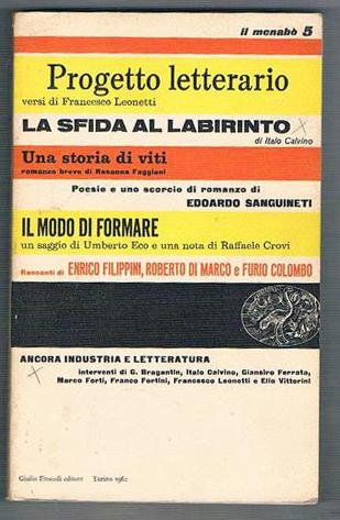 Italo Calvino, Sfida al labirinto