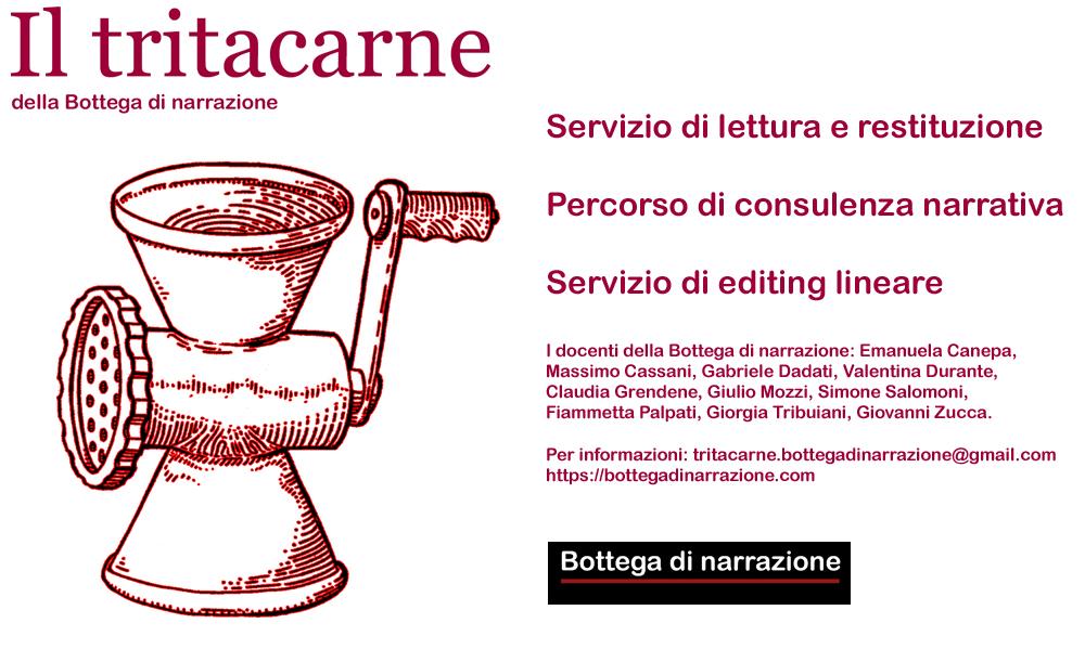 Scrittura creativa, Creative writing, Editing, Consulenza narrativa, Consulenza letteraria