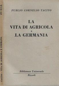 Tacito, Vita di Agricola, La Germamia, bur
