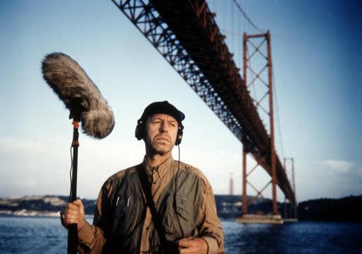 "Un'immagine dal film ""Lisbon Story"", di Wim Wenders"